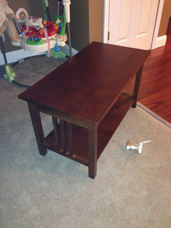 target mission coffee table